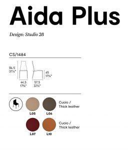 Aida plus Calligaris