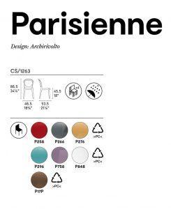 Parisienne Calligaris