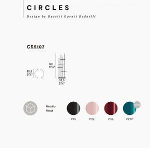 Circles Calligaris