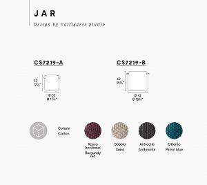 Jar Calligaris