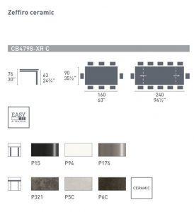 Zeffiro ceramic